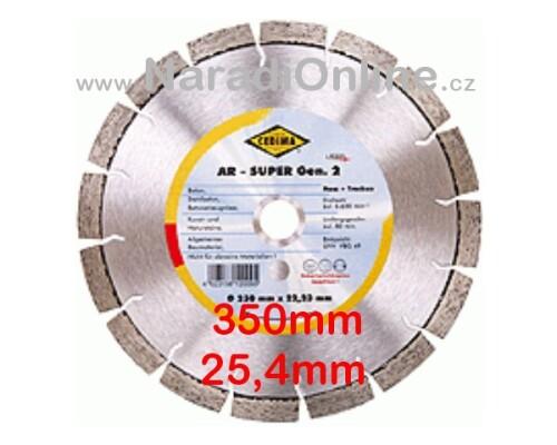diamantový kotouč CEDIMA-AR, BETON, 350/25,4mm