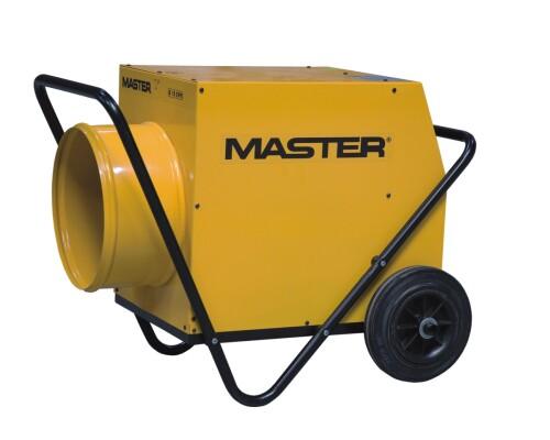 elektrické topidlo s ventilátorem Master B 18 EPR, 400V, 18kW