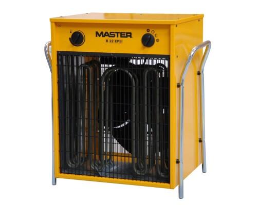 elektrické topidlo s ventilátorem Master B 22 EPB, 400V, 22kW