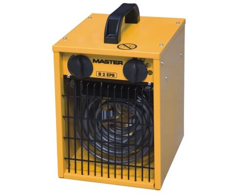 elektrické topidlo s ventilátorem Master B 2 EPB, 230V, 2kW