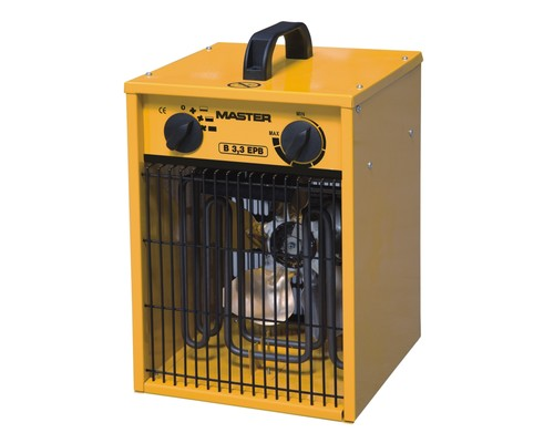 elektrické topidlo s ventilátorem Master B 3.3 EPB, 230V, 3,3kW
