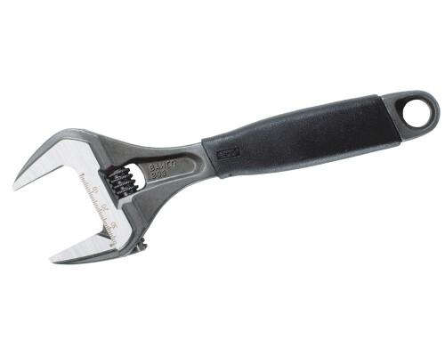 Stavitelný švédský klíč s Ergo rukojetí a širokými čelistmi, 0-55mm