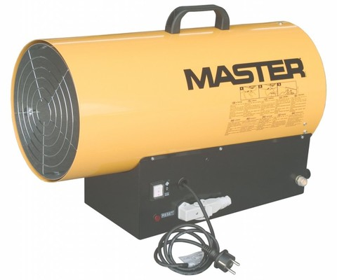 mobilní plynové topidlo s ventilátorem Master BLP 33 ET, 16-33kW