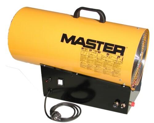 mobilní plynové topidlo s ventilátorem Master BLP 53 M, 36-52kW