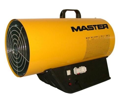 mobilní plynové topidlo s ventilátorem Master BLP 53 ET, 31-52kW