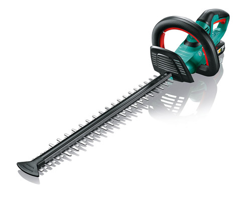 Akumulátorové nůžky na živé ploty Bosch AHS 50-20 LI, 18V, 2x2,5Ah