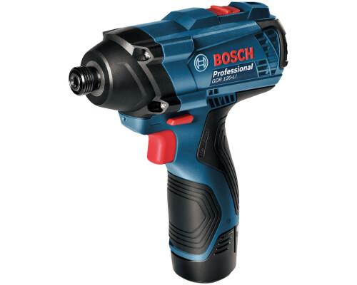 AKU rázový šroubovák Bosch GDR 120-Li, 2x1,5Ah
