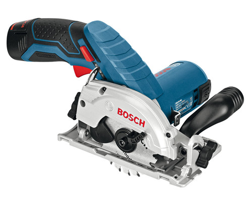 Aku okružní pila Bosch GKS 10,8 V-LI, 2x2,5Ah, L-Boxx