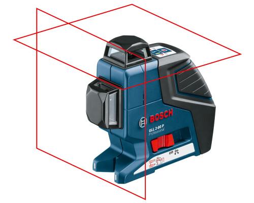 stavební křížový laser BOSCH GLL 2-80 P