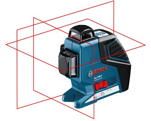 Stavební křížový laser Bosch GLL 3-80 P