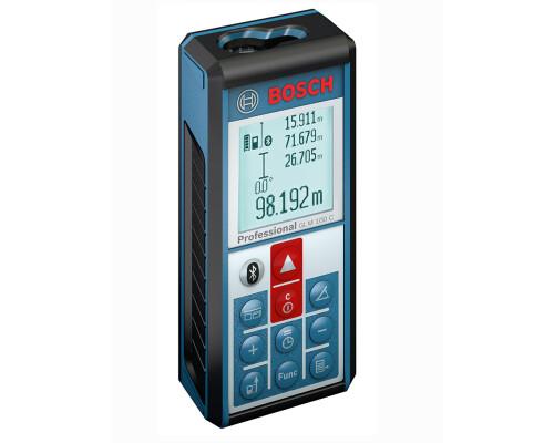 laserový měřič vzdálenosti s úhloměrem Bosch GLM 100 C, Bluetooth