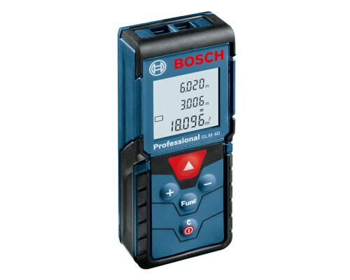 Laserový měřič vzdálenosti dálkoměr Bosch GLM 40