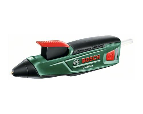 Akmulátorová lepící tavná pistole, lepící pero Bosch Gluepen