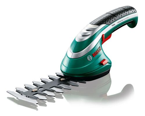 Akumulátorové nůžky s lištou na stříhání keřů Bosch Isio 3