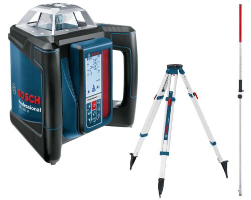 Stavební samonivelační laser Bosch GRL 500 H + GR240 + BT170