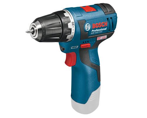 AKU vrtací šroubovák Bosch GSR 10,8 V-EC, bez aku a nabíječky
