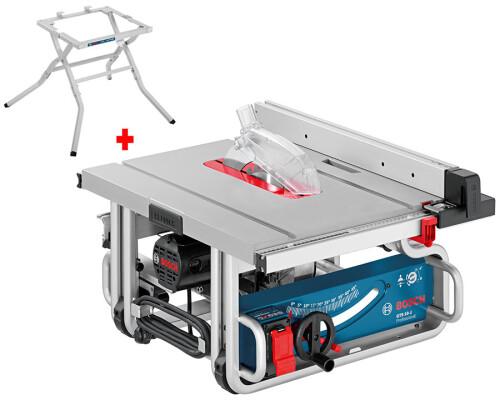 Přenosná stolní pila Bosch GTS 10 J, 1800W + stůl GTA 600