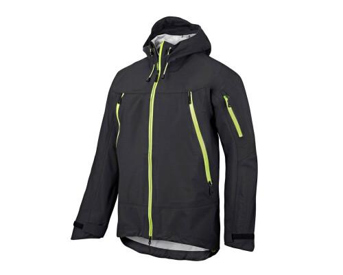 Nepromokavá bunda FlexiWork Stretch, černá, velikost XL