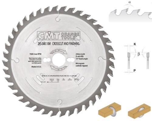 Pilový kotouč pro řezání masivního dřeva HM, 300x3,2(2,2)30, 48z
