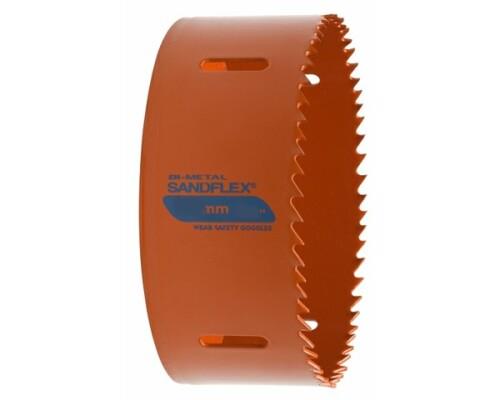 Bi-metalová děrovací pila - děrovka Sandflex, 168mm