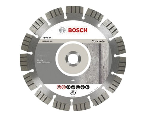 diamantový kotouč BOSCH, Best BETON, 125mm