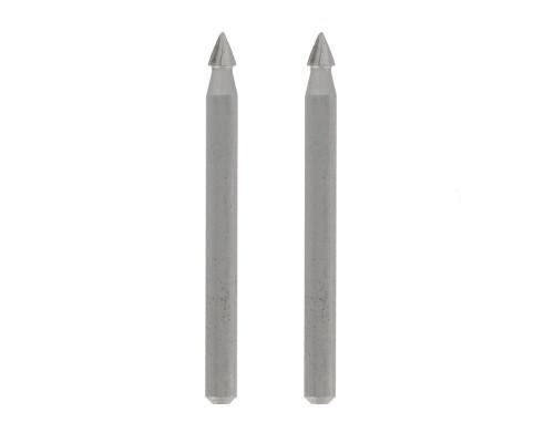 Dremel 118 řezbářská fréza na měkké materiály, hrotová 3,2mm, 2ks