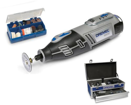 Aku mikronářadí Dremel 8200-5/65 Platinum, 2x Li-Ion 1,5Ah, 65 ks