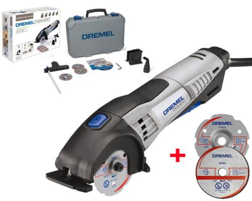 Multifunkční pila Dremel DSM20, 710W, kufr + DSM510 + DSM600