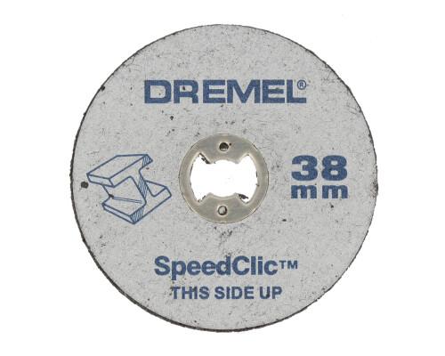 Dremel SC 456 řezací kotouč na kov vyztužený, rozměr 38x1,2mm, 5ks