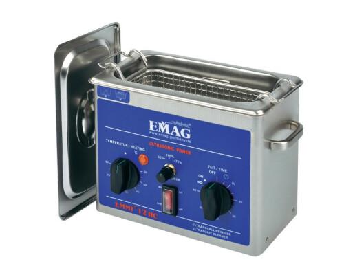 Ultrazvuková čistička Emag Emmi-12 HC, 1,2 l, 100W, 200x100x65mm