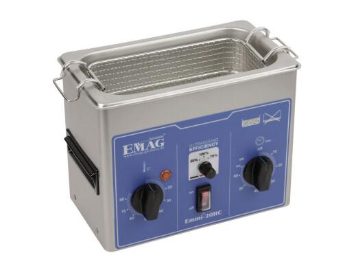 Ultrazvuková čistička Emag Emmi-20 HC, 2,0 l, 150W, 230x115x75mm