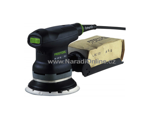 excentrická bruska FESTOOL, ETS 125 EQ-PLUS