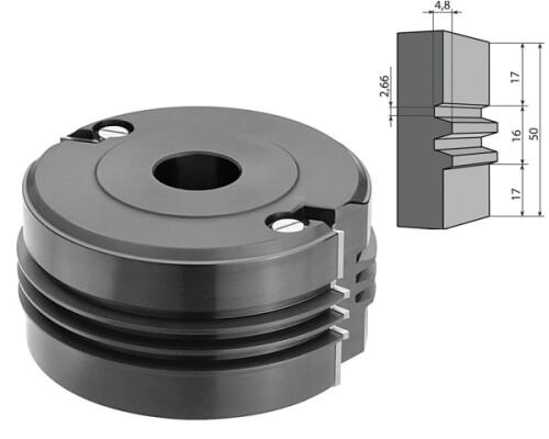 fréza žiletková, spárovací na spoje, ALU, IGM, 130mm, Z2