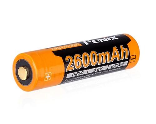 Dobíjecí baterie Fenix Li-Ion 18650 2600mAh