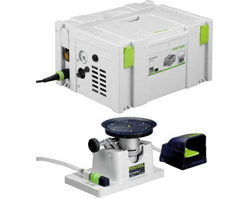 Vakuová upínací jednotka + vývěva VAC SYS SET SE-1