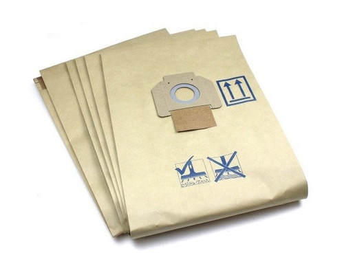 Filtrační sáček papírový pro vysavače Nilfisk Attix 7-9, (5ks)