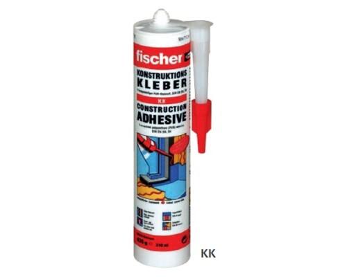Montážní lepidlo polyuretanové Fischer KK, 310ml