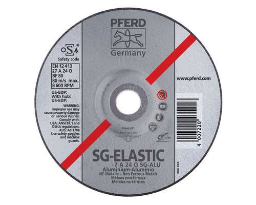 Kotouč brusný na hliník SG-Elastic SG-Alu 230/7mm