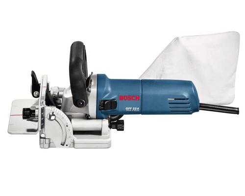 Lamelovací frézka Bosch GFF 22 A, L-Boxx