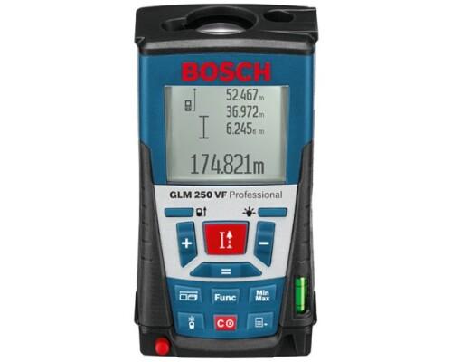 Laserový měřič vzdálenosti Bosch GLM 250 VF Profi