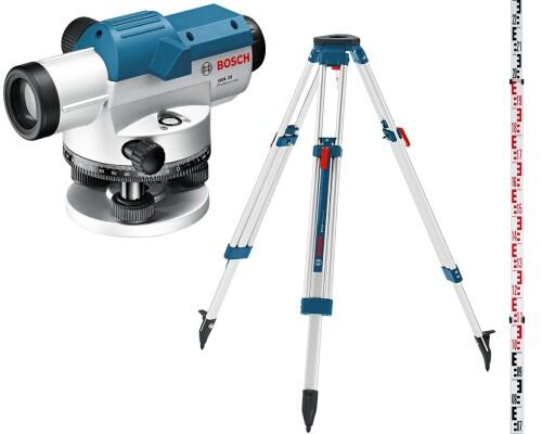 Optický nivelační přístroj Bosch GOL 26G + stativ BT160 + lať GR500