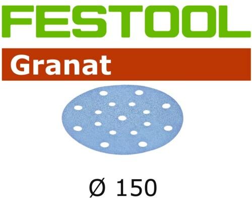 brusný výsek FESTOOL GRANAT STF D150mm/16, P40, 50ks