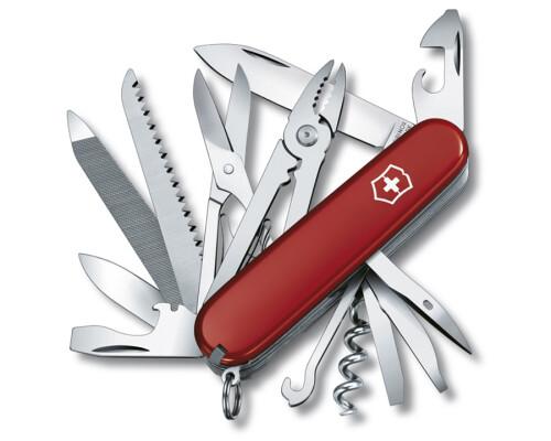 kapesní nůž Victorinox Handyman, červený, 91mm