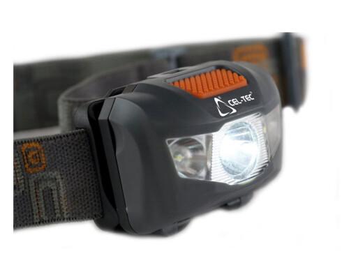 Čelová svítilna HL 125, Cree LED