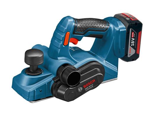 AKU hoblík Bosch GHO 18 V-Li, 2x4,0Ah, L-Boxx