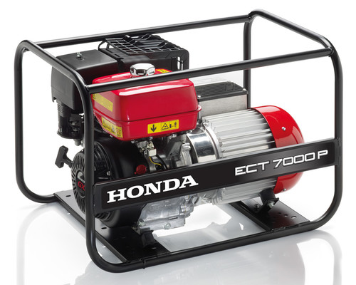 Elektrocentrála Honda ECT 7000 P GV, 400V/6,5KVA