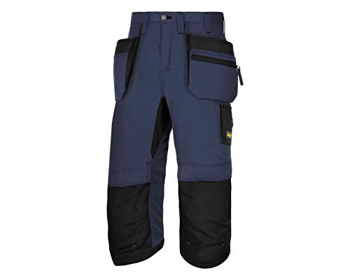 Pracovní kalhoty LiteWork Pirate 3/4, modré, vel. 52