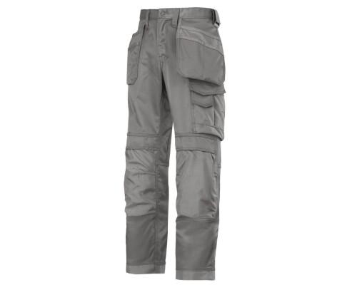 Pracovní řemeslnické kalhoty Canvas+, kapsy, šedá, velikost 050