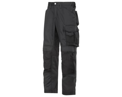 Pracovní řemeslnické kalhoty CoolTwill, černá, velikost 048