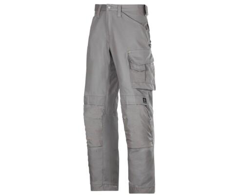 Pracovní řemeslnické kalhoty Canvas+, šedá, velikost 050